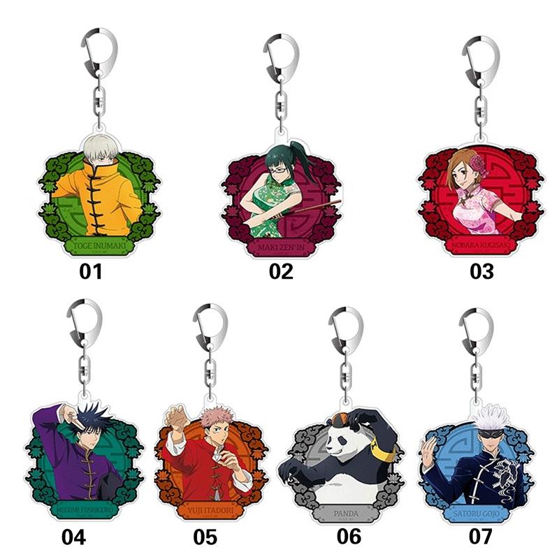 Anime Keychain jujutsu Kaisen Itadori Yuuji Sukuna Ryoumen Acrylic Keyring strap