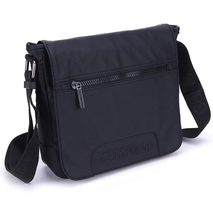 Calvin Klein Messenger Crossbody Shoulder Bag กระเป๋าสะพายไหล่ผ้าแคนวาสไนล่อนสำหรับเดินทาง 9479 #