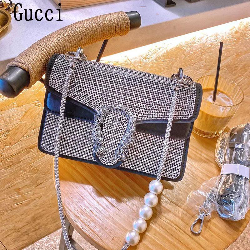 New Gucci Classic Dionysus full diamond Bacchus bag