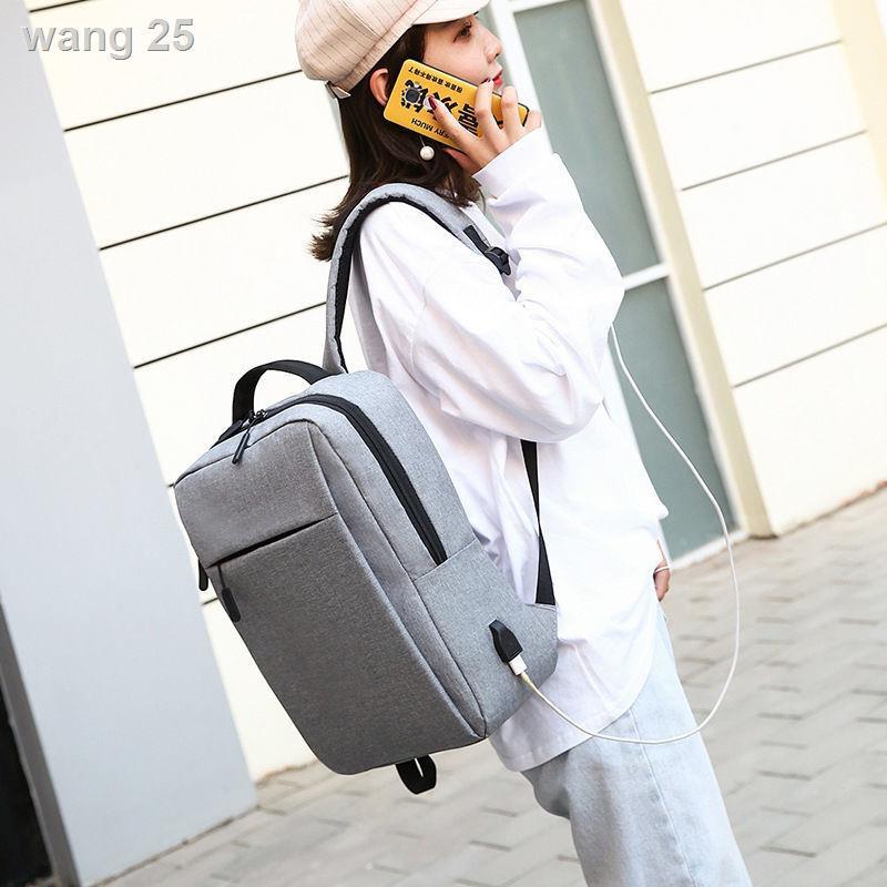 ♠﹊๑กระเป๋าเป้สะพายหลังกระเป๋าถือโน๊ตบุ๊ค 13/14/15.6 นิ้วกระเป๋านักเรียนนักเรียนธุรกิจ และกระเป๋าเป้ใส่คอมพิวเตอร์เดินทาง