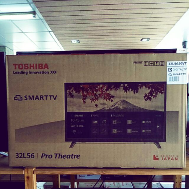 TV Toshiba 32L5650 smart tv