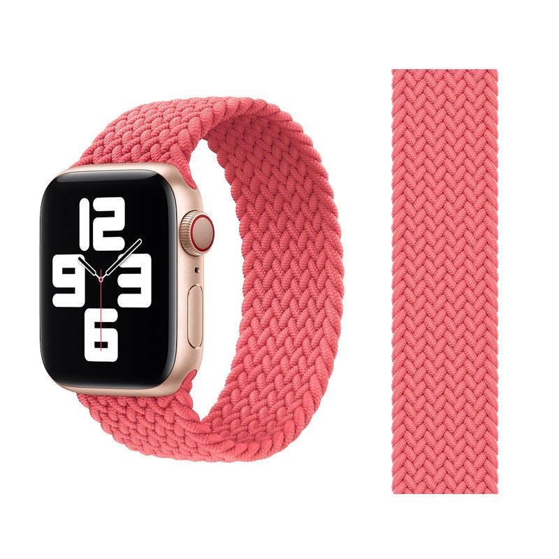 💥 สาย applewatch 🔥 เหมาะสำหรับสาย Apple Watch 5/6 / SE iwatch สายทอแบบวงเดียวใหม่ Applewatch2 / 3/4