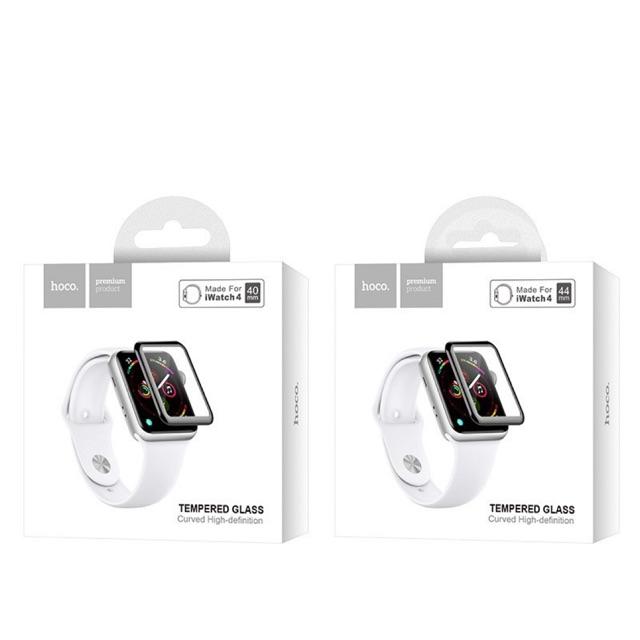 🔥HOCO ฟิล์มกระจกนิรภัยแบบเต็มจอ 40/44MM Applewatch series4/5เท่านั้น‼️