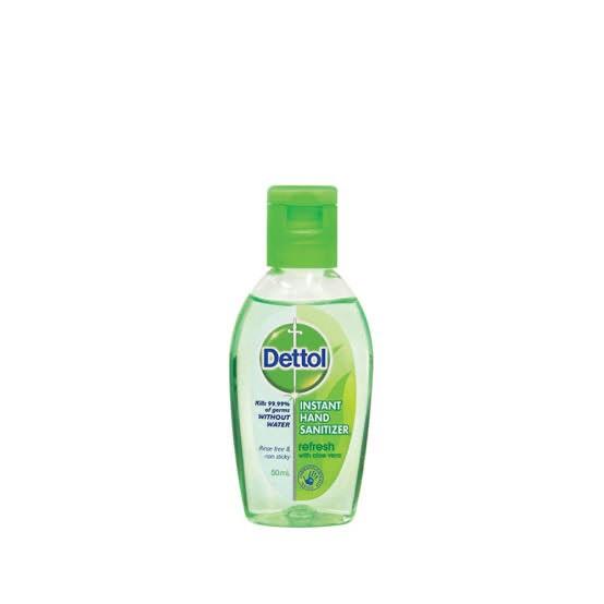 Dettol เดทตอล เจลล้างมือ หอมสดชื่นผสมอโลเวล่า