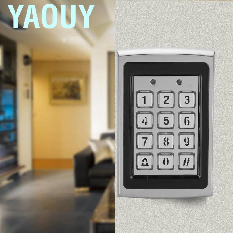 Top Metal 125KHz RFID Card Password Door Access Control Keypad with Backlight