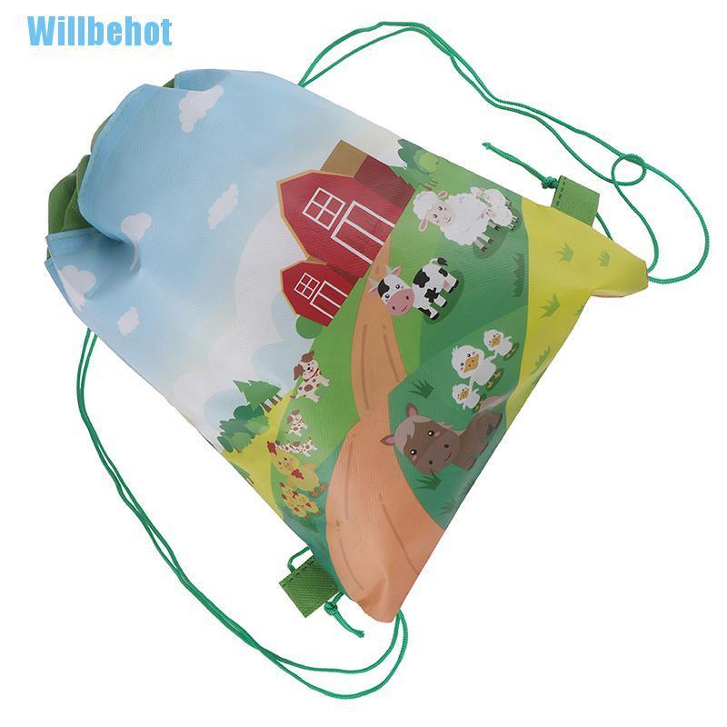 [Wbhot] กระเป๋าเป้สะพายหลังกระเป๋าเดินทางลายฟาร์มสัตว์