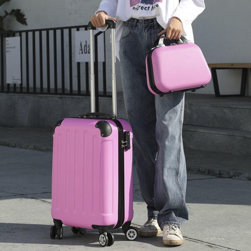 กระเป๋าเดินทางความจุขนาดใหญ่ 20 / 24 นิ้ว 26 นิ้ว