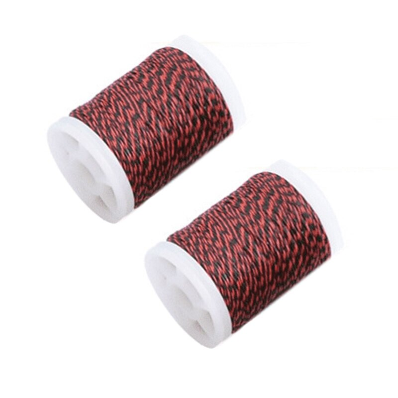 Red Bow String Serving Thread Nylon Fiber Spool Bow String Protective for Various Bows