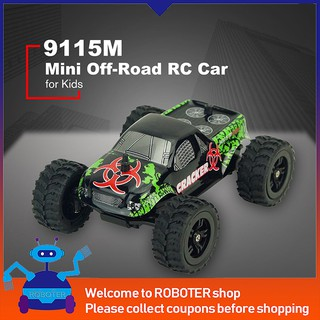 Review ของเล่นรถบังคับ 1 : 32 4 CH 2 WD 2.4 GHz Mini Off-road RC