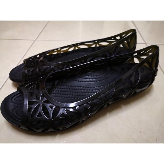 รองเท้า crocs แท้มือสอง iconic comfort เบาสบายเท้า w6