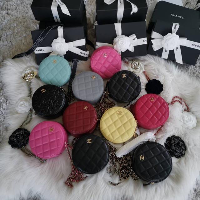 Chanel round bag holo 29