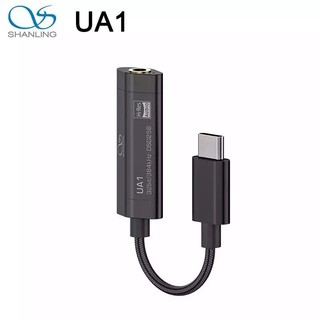 SHANLING UA1 USB DAC AMP HiFi Audio ES9218P Chip Adapters Type-C To 3.5mm Cable PCM 32/384 and DSD256 for Android Windows