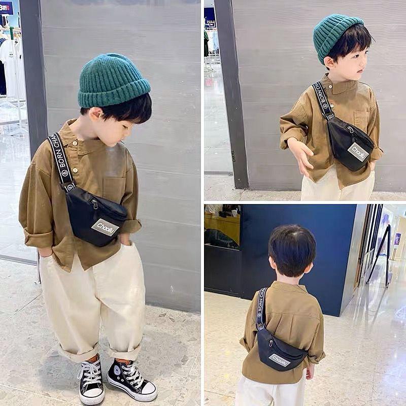 กระเป๋าเด็ก เด็กชาย เด็กหญิง กระเป๋าสะพายข้าง เป้เล็กน่ารัก ลำลอง กระเป๋าเดินทางหน้าอก กระเป๋าสะพายข้างใบเล็ก