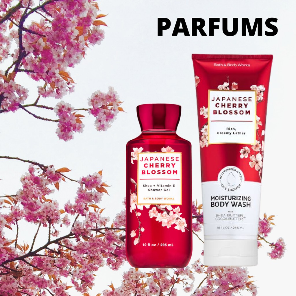 ครีมอาบน้ำ Shower Gel Bath and BodyWorks ( Japanese Cherry Blossom Edition )