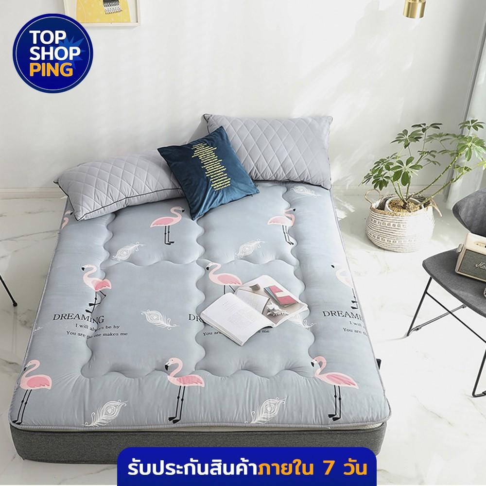ที่นอน ฟูกนอน5ฟุต ท็อปเปอร์ Topper ที่นอนTopper เบาะรองนอน ที่นอนท็อปเปอร์ ฟูกรองนอน เบาะรองนอนราคาถูกๆ (ความหนา 3.5 CM