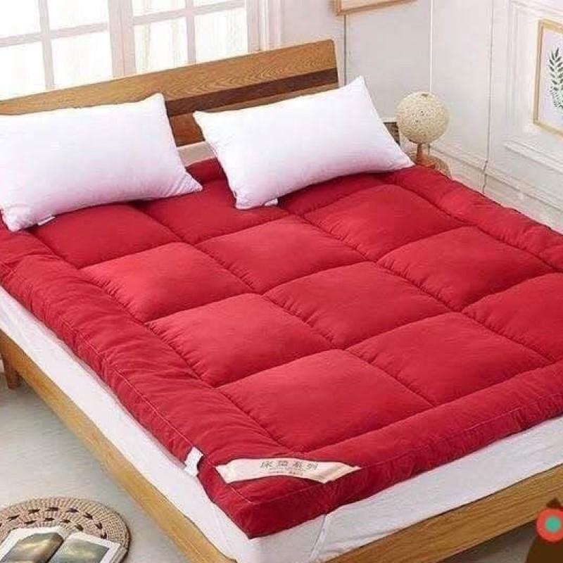 topper 5 ฟุต ที่นอน topper ท็อปเปอร์ ขนาด 3.5 ฟุต สีแดงกุหลาบ