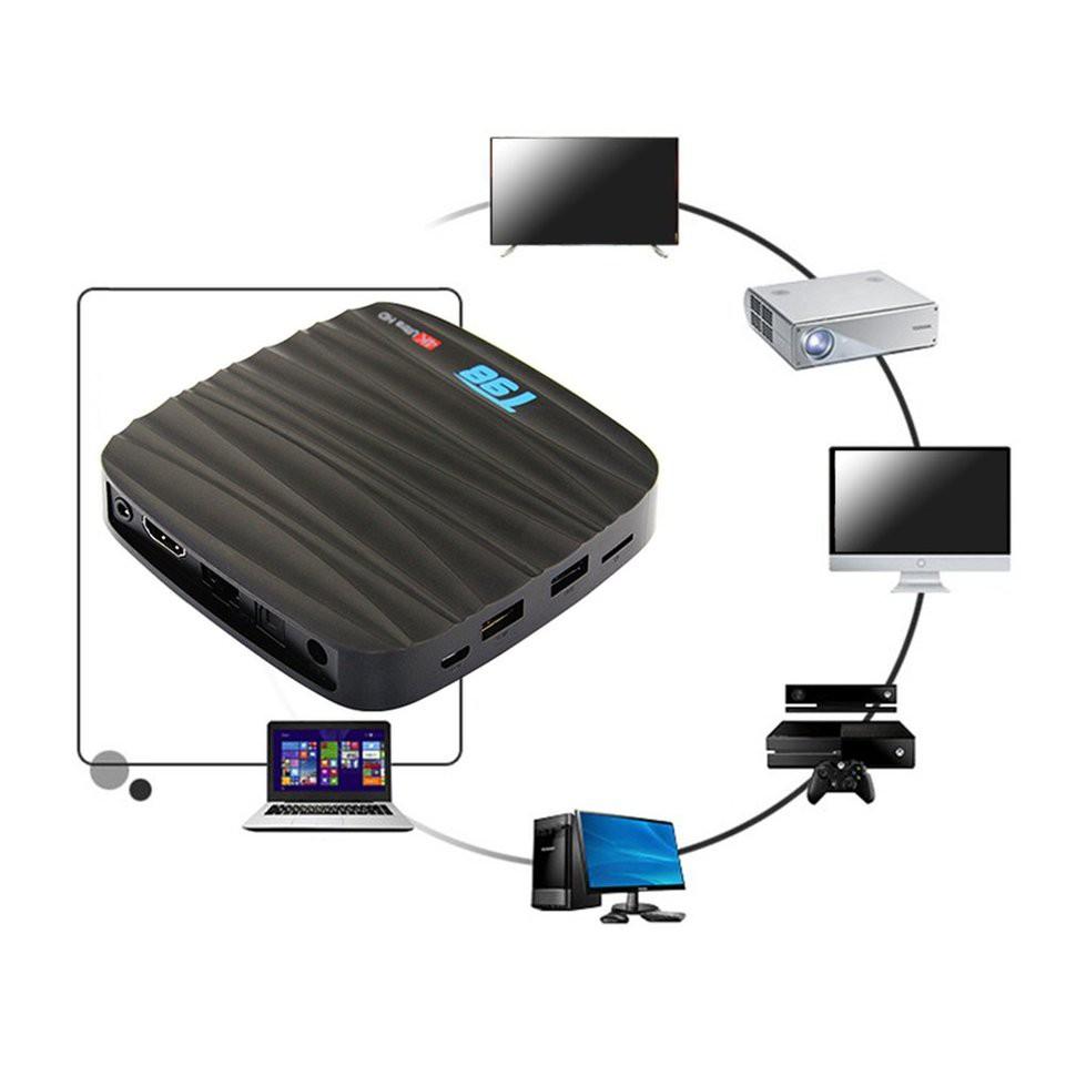 กล่องทีวี T 98 Smart TV Box Android 7 1 2 GB 16 GB WiFi