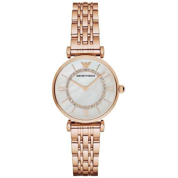 Emporio Armani Women's AR1909 Retro Rose Gold Watch