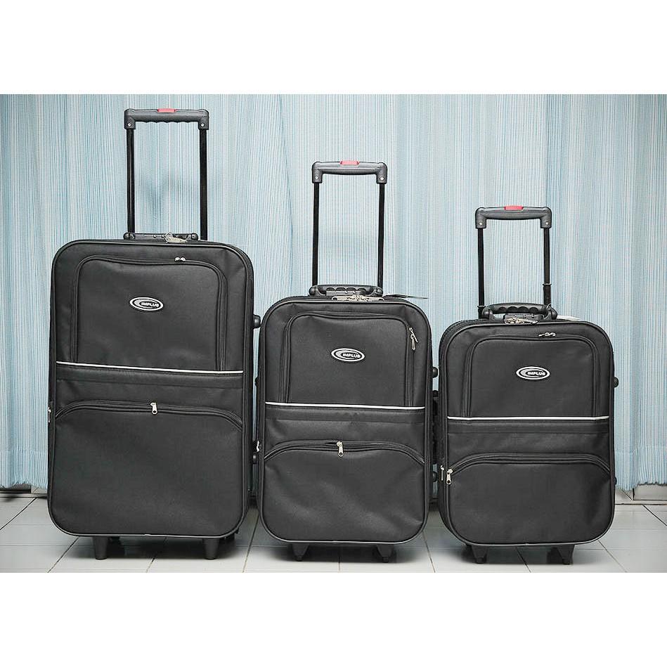 กระเป๋าเดินทาง [ BRM ] ถูกที่สุด กระเป๋าเดินทาง ล้อลาก ขนาด 18 - 24 นิ้ว กระเป๋าล้อลาก แบบผ้า คุณภาพดี ราคาถูกที่สุด