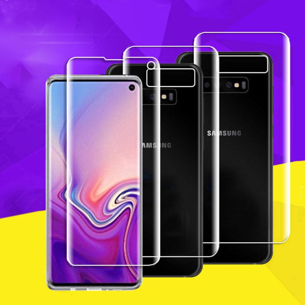 Review Samsung Galaxy S10e S10+ S8 S9 S10 S7 S6 Edge Plus Note 10 Plus 9 8 5 A7 A8 Plus Screen Protector Front / Rear Back Film