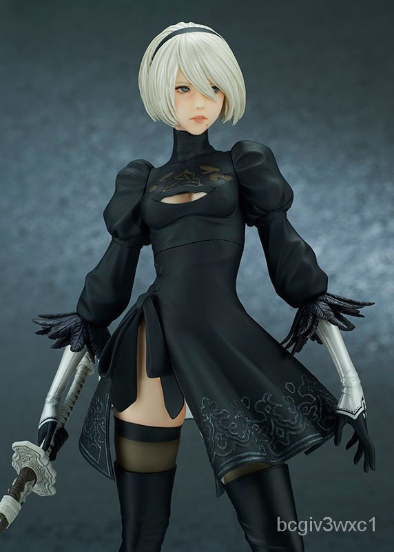 กรุณาใช้ COD สำหรับการชำระเงินResin Figure Kit NieR Automata 2B (YoRHa No.2 Type B) DX Ver. Unpainted Garage Resin Model