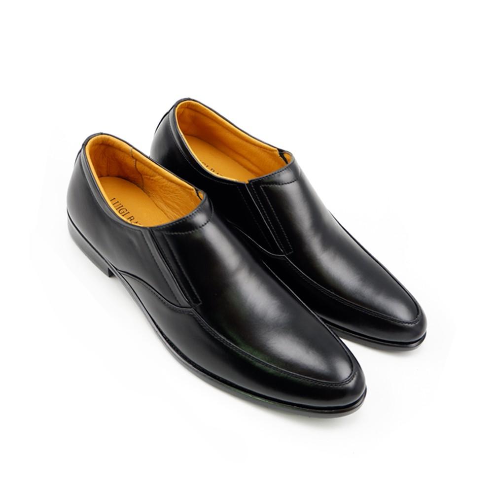LUIGI BATANI รองเท้าคัชชูหนังแท้ รุ่น LBD6088-51 สีดำ