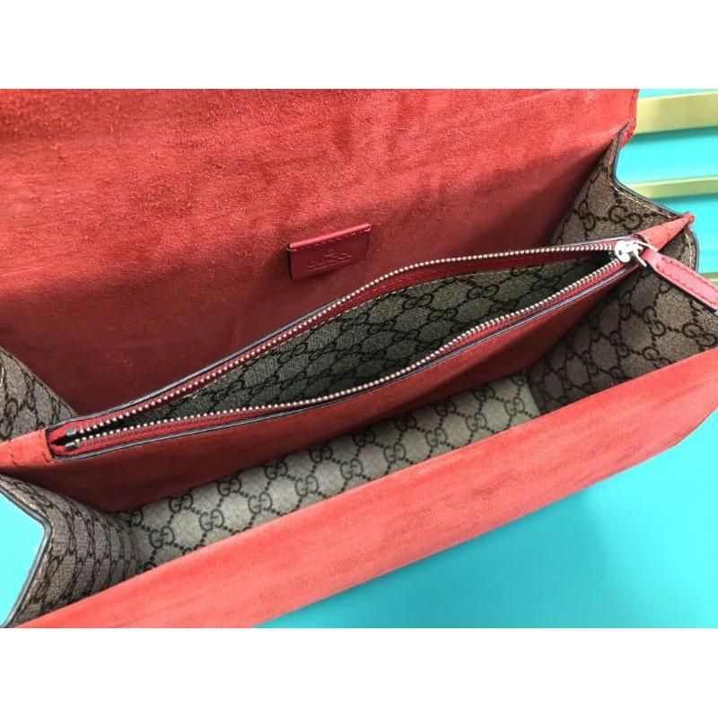 ระยะเวลาจำกัดOriginal Quality Gucci Dionysus Medium Red Chain Bag