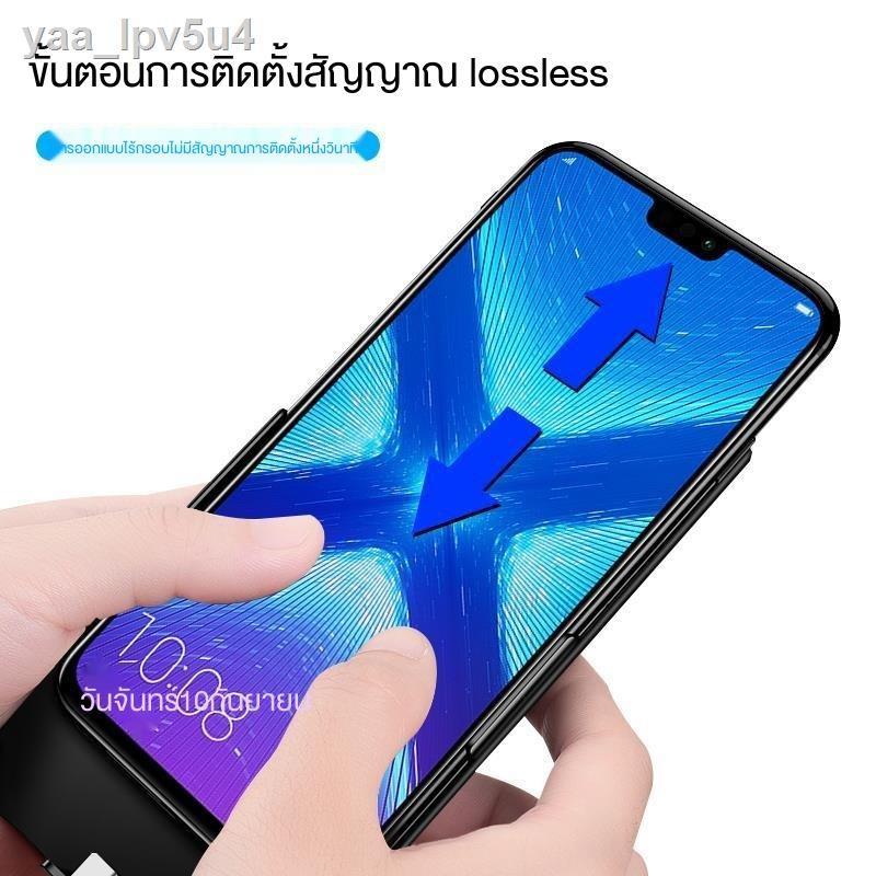 ❤️พร้อมส่งในไทย❤️♂●◎สำหรับ Huawei Honor 8x แบตเตอรี่คลิปหลัง 8xmax แบตเตอรีไร้สาย nova3i เพลิดเพลินกับ 9plus mAh