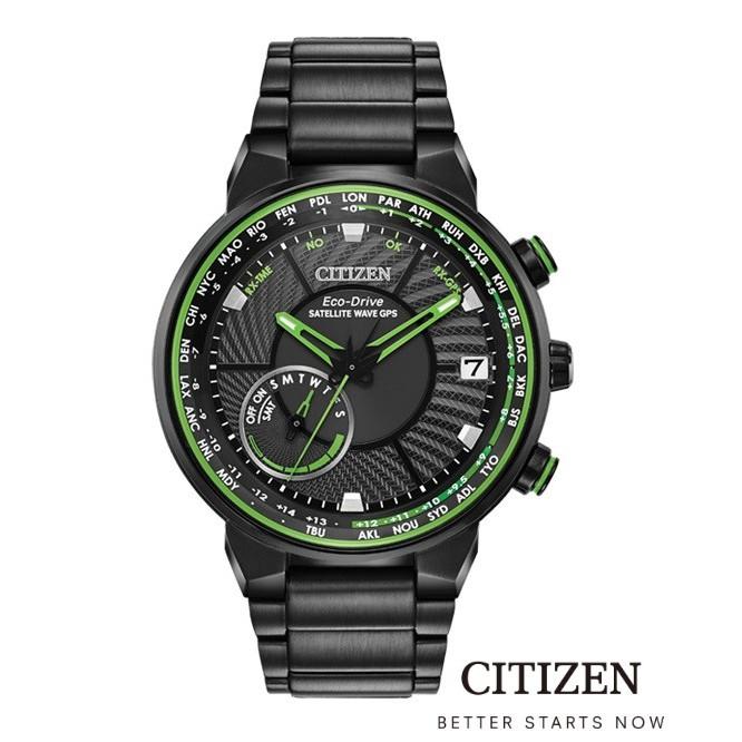 CITIZEN Eco-Drive CC3075-80E Satellite Wave GPS F150 Men's Watch