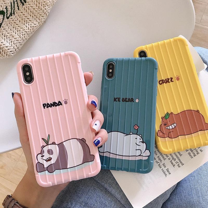 เคส Samsung M11 J2 J4 J6 J7 J8 A7 A9 A10 A20 A30 A30s A50 A50s A70 Prime Pro Plus 2018 Colorful Bear Trunk TPU Soft Case Cover