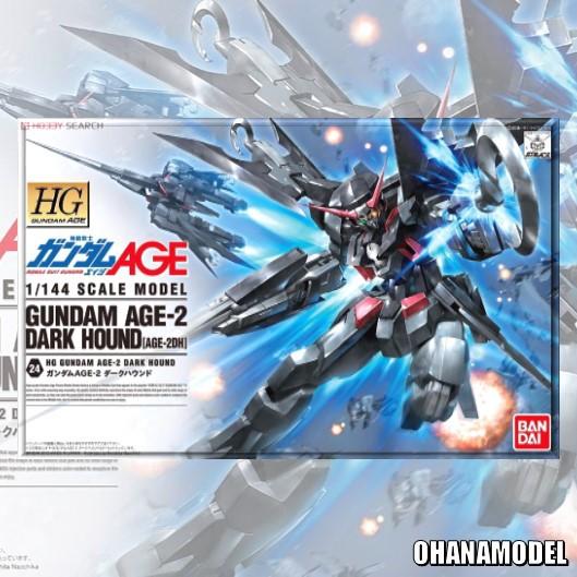 HG 1/144 GUNDAM AGE-2 DARK HOUND [Bandai]