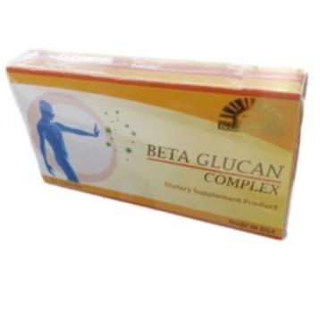 Dr.Lee & Dr. Albert Beta Glucan Complex ผลิตภัณฑ์เสริมอาหาร 60แคปซูล