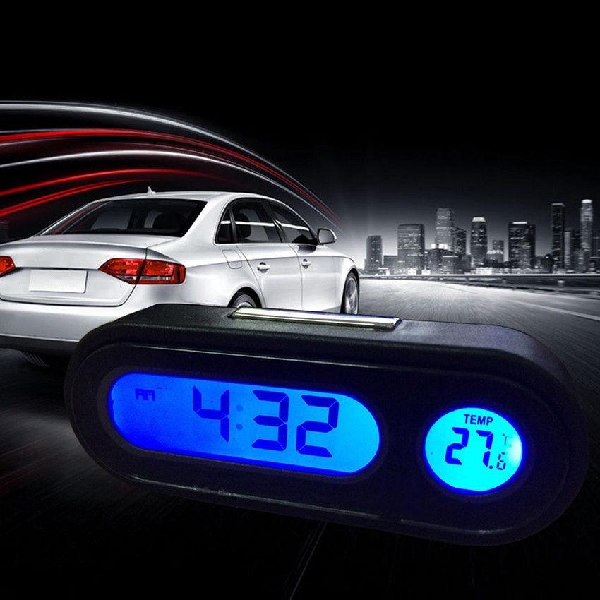 Mini DC 12V24V Car LED Light Digital Voltage Volt Meter Display Voltmeter   Shopee Thailand