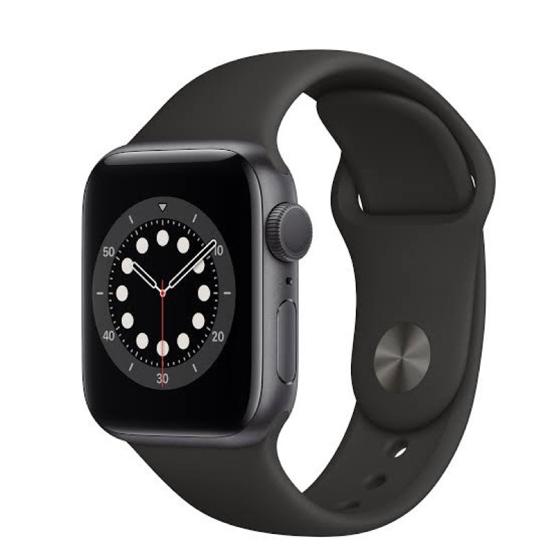 #ประกันศูนย์1ปี Apple watch serie6 Space Gray Aluminum Case with Sport Band gps 40mm