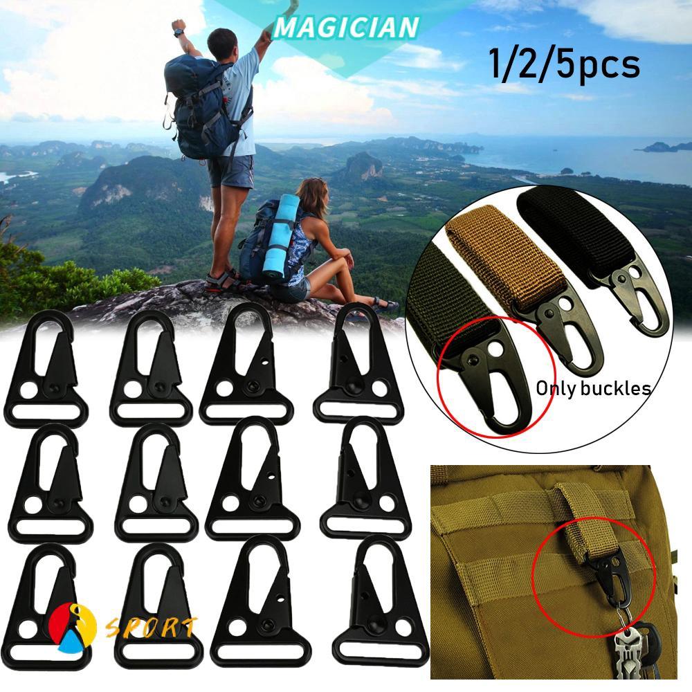 Magic 1 / 2 / 5 ชิ้นกระเป๋าเป้สะพายหลังโลหะผสมสังกะสีเหมาะกับการพกพาเดินทาง