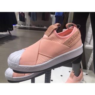 finest selection 23071 59038 Find Price รองเท้า Adidas Superstar Slipon AQ0919 สีชมพูพีท ...