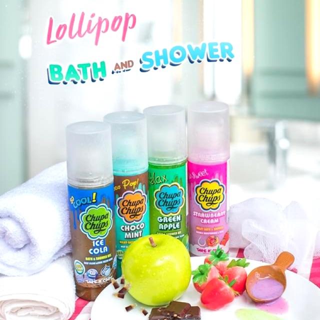 ครีมอาบน้ำ Chupa Chups  Lollipop Bath & Shower 🌈