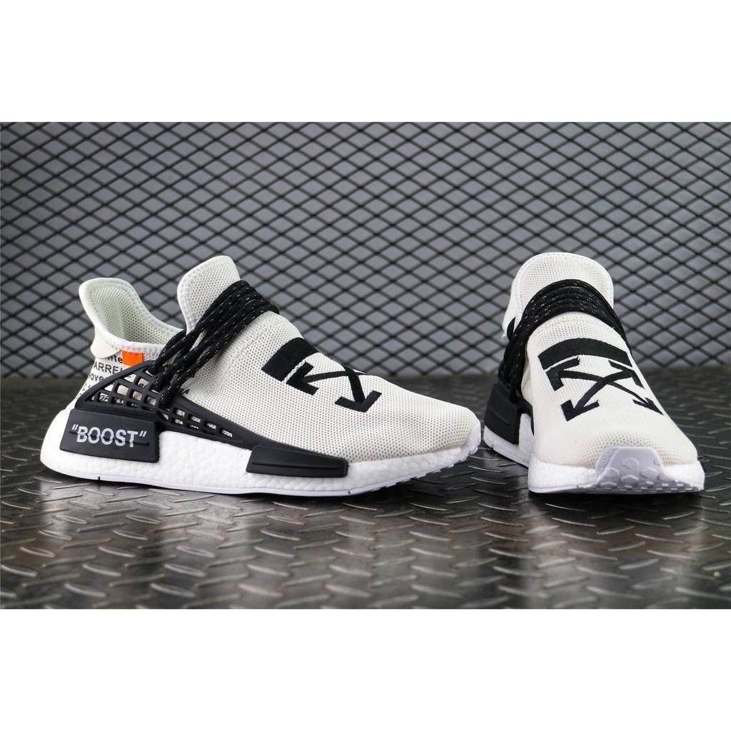 Adidas X Off - White X Nmd Human Race Trail Ow Director รองเท้าผ้าใบลําลองสําหรับผู้ชายผู้หญิง