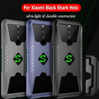 Review Xiaomi Black Shark Helo Soft TPU Shockproof Breathable Case with PC Handle Kit