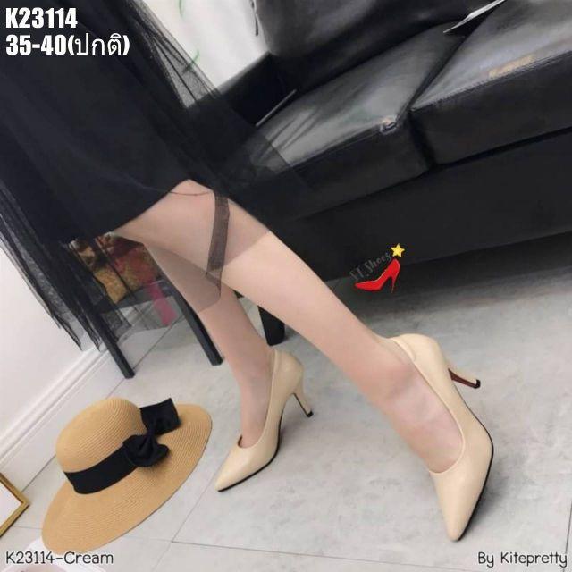 K23114   รองเท้าคัชชู