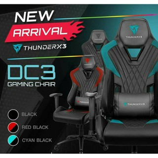 Review ThunderX3 DC3 Gaming Chair - Black**ค่าส่งถูกมาก**