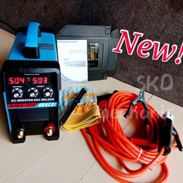 ตู้เชื่อมตู้เชื่อม BKK ระบบไฟฟ้า MMA 600 มาพร้อมฟังก์ชั่นการใช้งานระบบ3ปุ่มปรับช่วยในการเชื่อมง่ายขึ้น