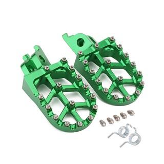 Foot Pegs Footpegs Footrest Pedals Aluminum Foot rests For Honda CR125R CR250R CRF150R CRF250R CRF250X CRF450R CRF450RX CRF450X CRF250L CRF250RALLY Kawasaki KX250F KX450F KLX450R Motorcycle Dirt Bike