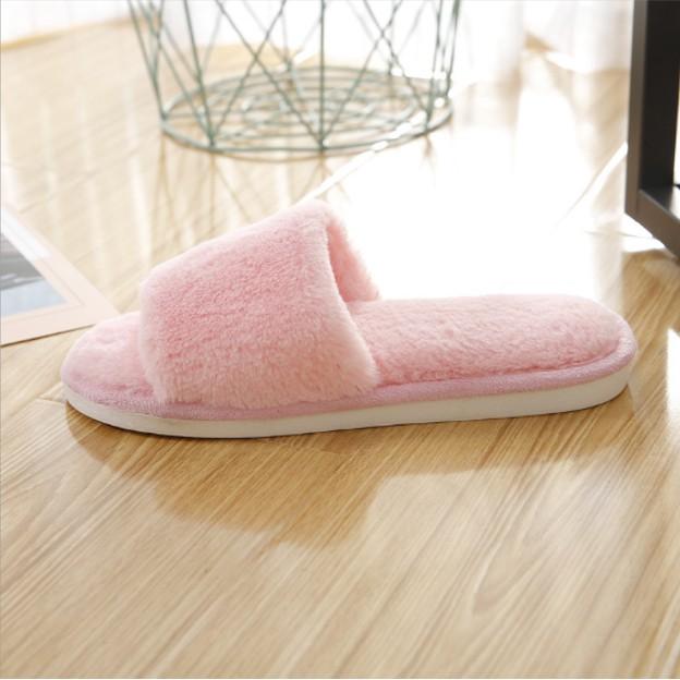 รองเท้าขนนิ่ม รองเท้าขนนุ่ม รองเท้าเดินในบ้าน รองเท้ากันลื่น