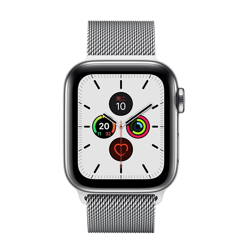 Apple Watch Series 5 ตัวเรือนสเตนเลสสตีล