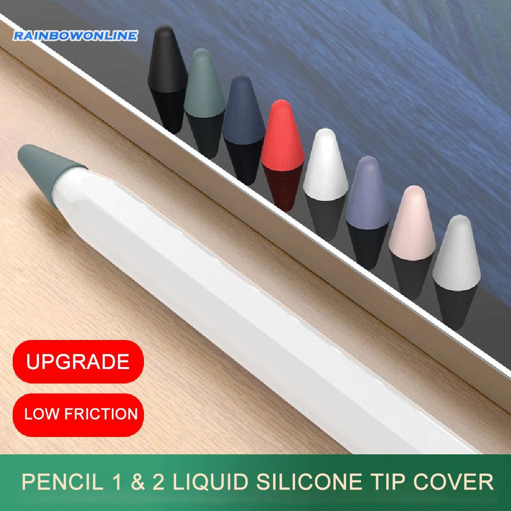 [❥RAIN]8pcs/Box Pencil Tip Cover for Apple Pencil 2nd 1st Replacement Nib Case