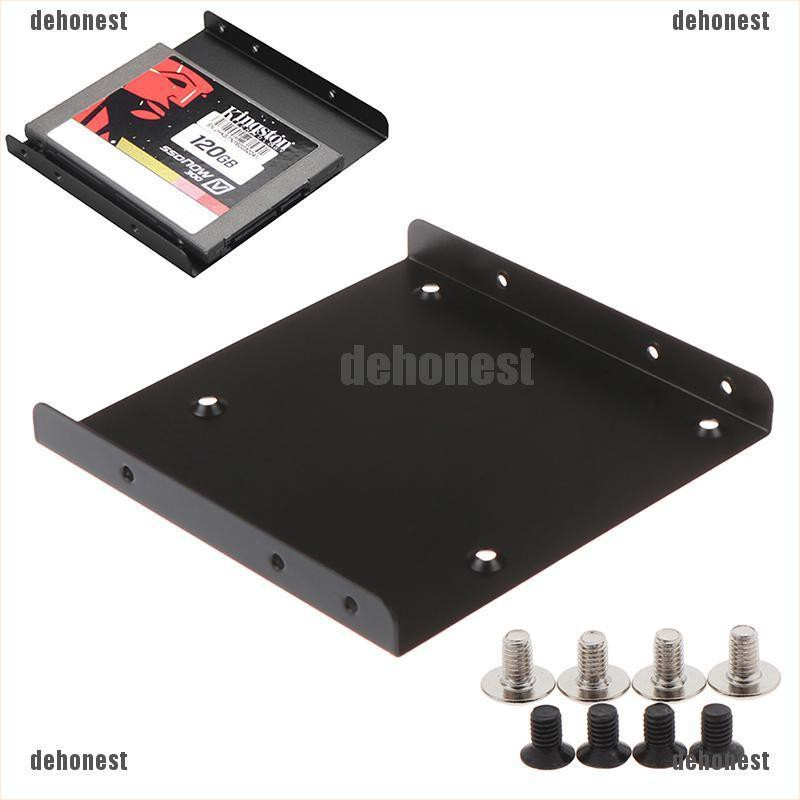 """[⭐ dehonest] HDD/SSD Mounting Bracket - 2.5"""" to 3.5-inch Hard Disk Bracket Hard Drive Adapter[th]"""