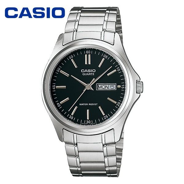 Casio Standard นาฬิกาข้อมือสุภาพบุรุษ สายสแตนเลส รุ่น MTP-1239D-7ADF
