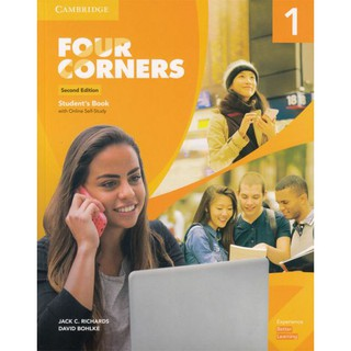 DKTODAY หนังสือ Four Corners Level 1 Student's Book with Online Self-Study (2nd Edition)
