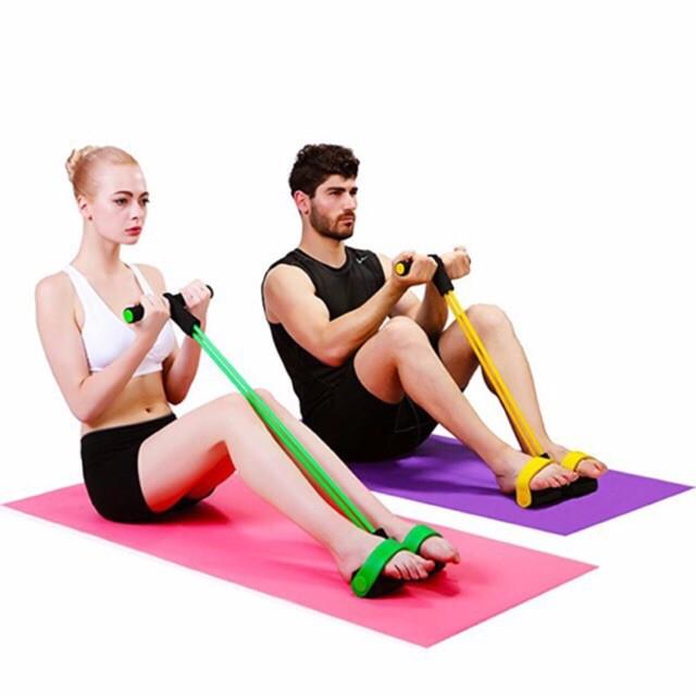 men's sports อุปกรณ์ ฟิตเนส,ยางยืด fitnow,ออกกําลังกายแบบยางยืด,ยางยืดออกกําลังขา,ยางยืดออกกําลังกาย 4 เส้น